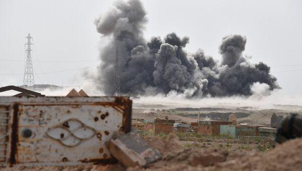 Útok ruských VKS na pozice IS v městě Dajr az-Zaur - Sputnik Česká republika
