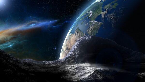 Asteroid, který se směřuje k Zemi - Sputnik Česká republika