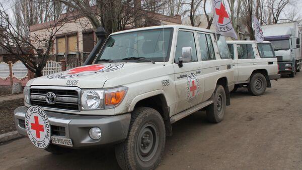 Červený kříž na Donbasu - Sputnik Česká republika
