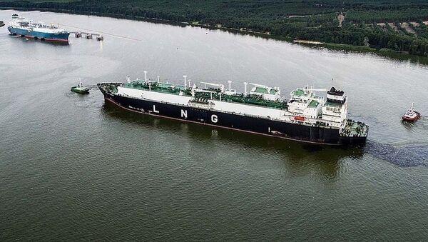 Loď se zkapalněným zemním plynem - Sputnik Česká republika