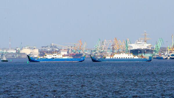 Námořní přístav Klaipėda - Sputnik Česká republika