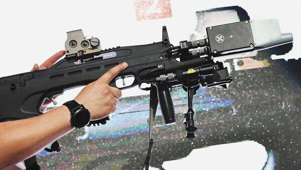 Rádiolektronická nesmrticí zbraň REX 1 - Sputnik Česká republika