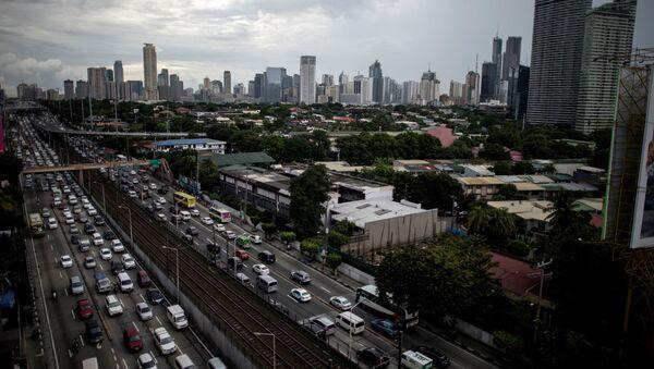 Pohled na Manilu, Filipíny - Sputnik Česká republika