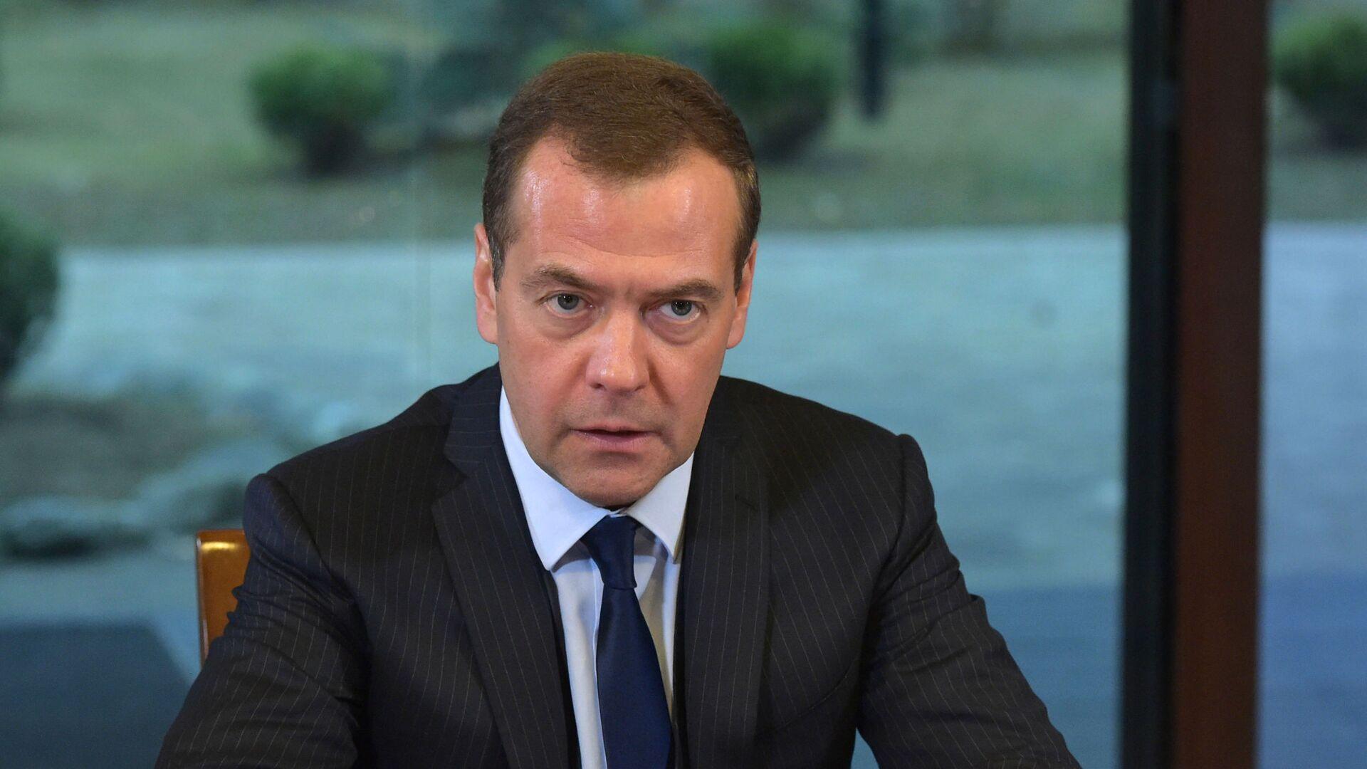 Ruský předseda vlády Dmitrij Medveděv - Sputnik Česká republika, 1920, 19.09.2021