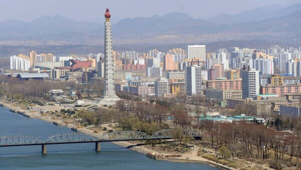 Pohled na Pchjongjang - Sputnik Česká republika