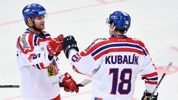 Jakub Jeřábek a Dominik Kubalík - Sputnik Česká republika