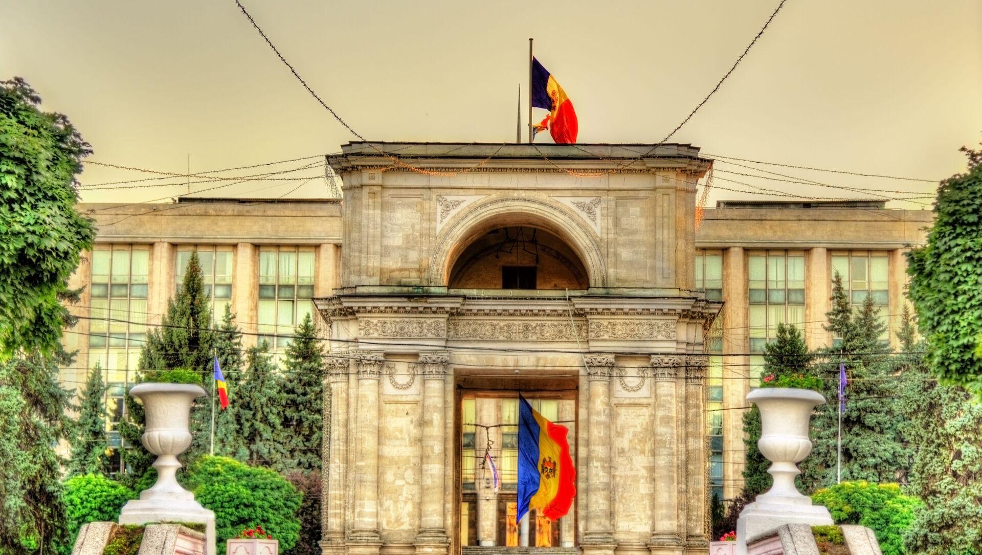 Moldavská vlajka v Kišiněvě - Sputnik Česká republika, 1920, 02.04.2021