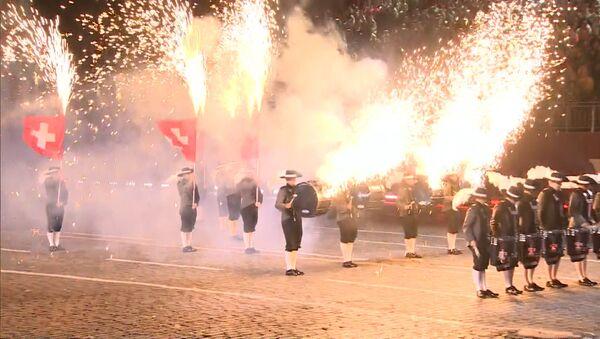 Slavnostní zahájení festivalu Spasskaja bašnja v Moskvě - Sputnik Česká republika