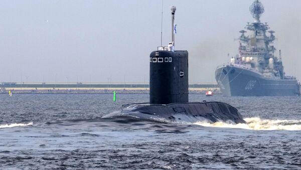Ponorka Kolpino - Sputnik Česká republika