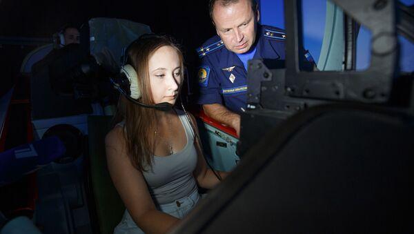 Zájemkyně o pilotování - Sputnik Česká republika
