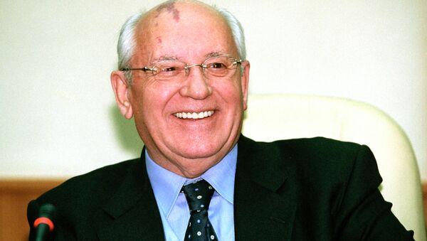 Bývalý prezident SSSR Michail Gorbačov - Sputnik Česká republika