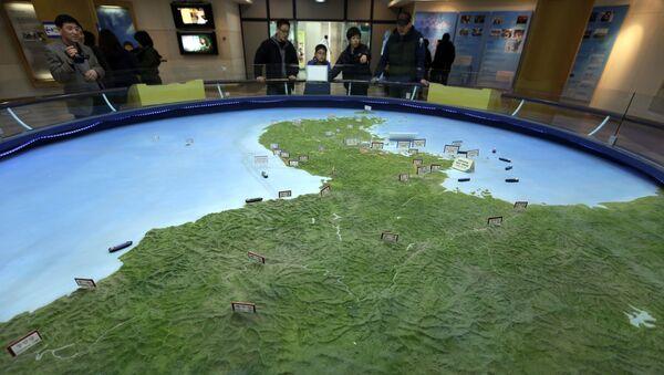 Mapa Korejského poloostrova - Sputnik Česká republika