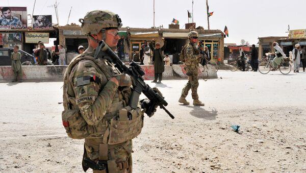 Americký voják v Afganistánu - Sputnik Česká republika