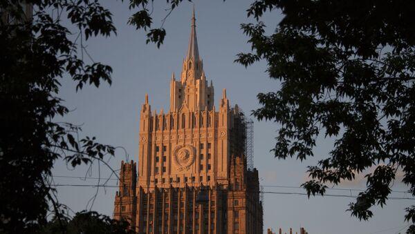 Budova Ministerstva zahraničí RF v Moskvě - Sputnik Česká republika
