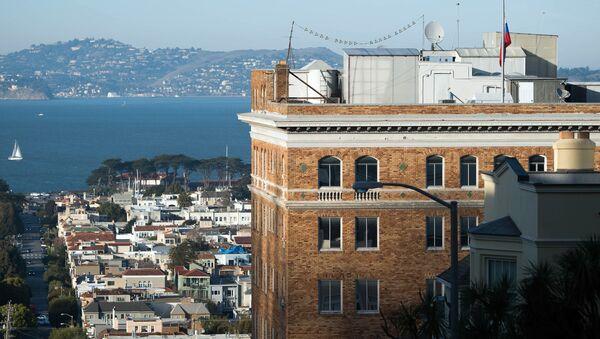 Ruský konzulát v San Franciscu - Sputnik Česká republika