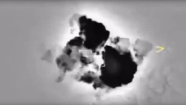 Ministerstvo obrany RF zveřejnilo video zničení bojovníků u Dajr az-Zaur - Sputnik Česká republika