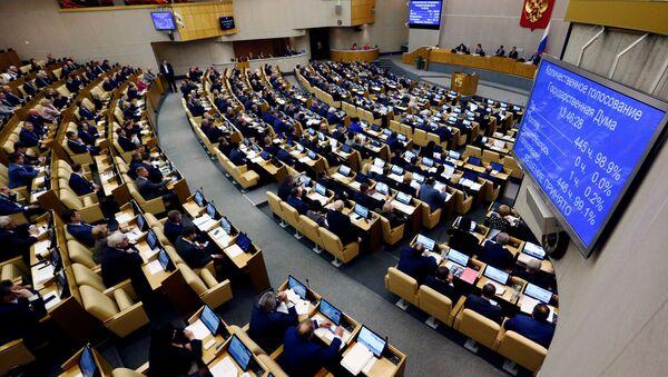 Zasedání Státní dumy v Moskvě - Sputnik Česká republika