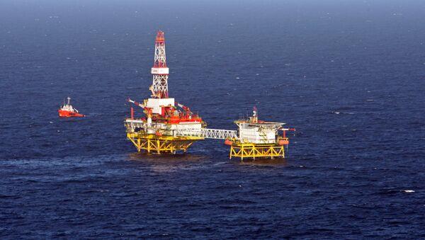 Těžba ropy LUKOIL v Baltském moři - Sputnik Česká republika