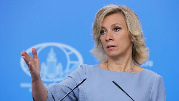 Tisková mluvčí ruského ministerstva zahraničních věcí Maria Zacharovová - Sputnik Česká republika