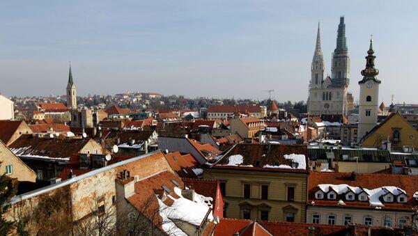 Katedrála v Záhřebu - Sputnik Česká republika