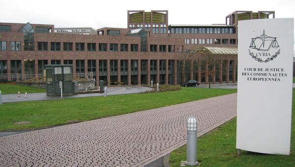 Soud Evropské unie - Sputnik Česká republika