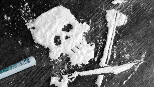 Kokain ve tvaru lebky - Sputnik Česká republika