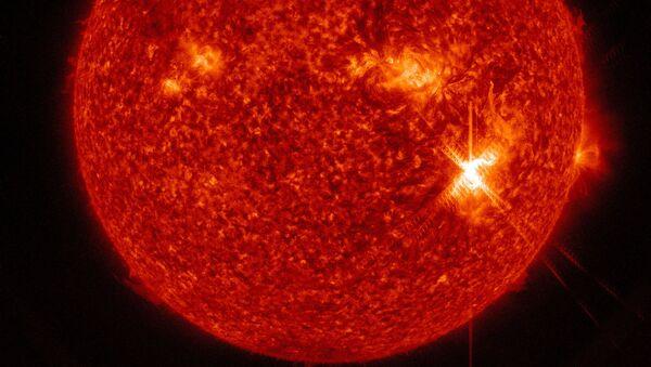 Erupce na Slunci - Sputnik Česká republika