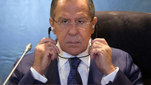 Ruský ministr zahraničí Sergej Lavrov - Sputnik Česká republika