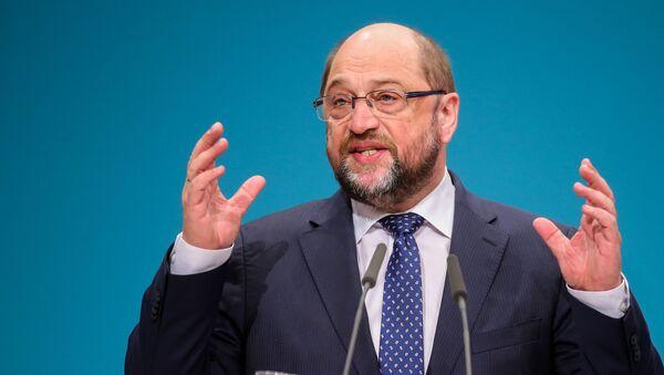 Martin Schulz. Ilustrační foto - Sputnik Česká republika