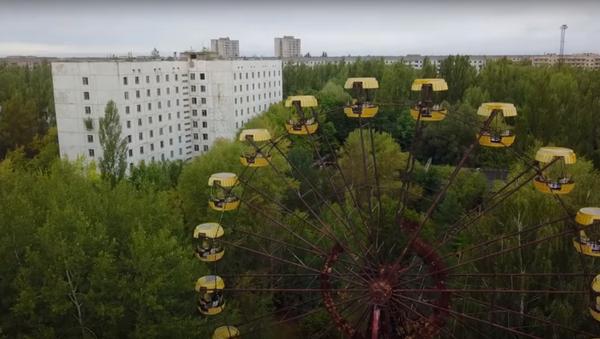 Polští turisté spustili ruské kolo v uzavřené zóně v Černobylu. Video - Sputnik Česká republika