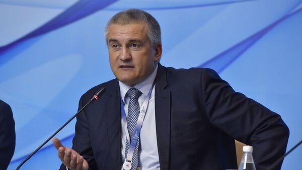 Krymský premiér Sergej Aksjonov - Sputnik Česká republika