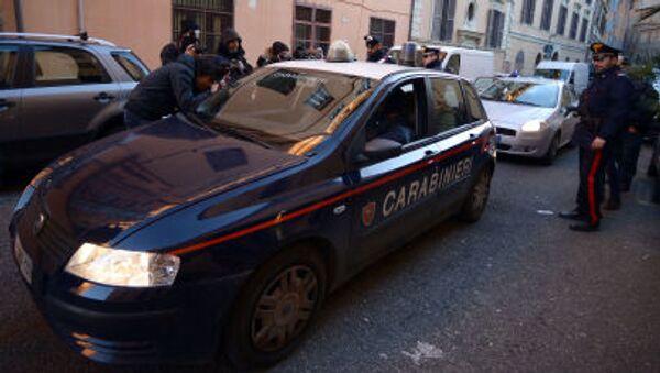 Italští policisté. Ilustrační foto - Sputnik Česká republika