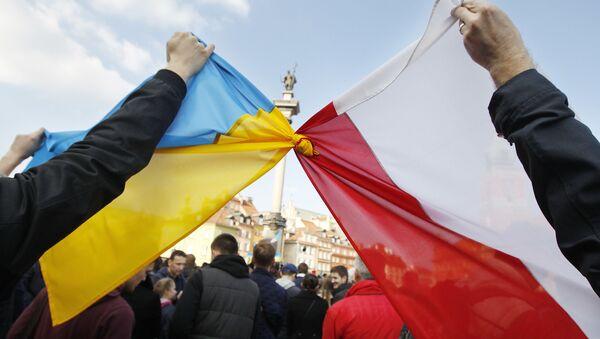 Vlajky Polska a Ukrajiny - Sputnik Česká republika