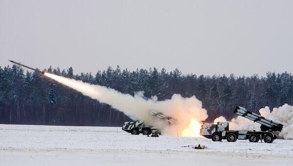 Raketomety BM-30 Smerč - Sputnik Česká republika