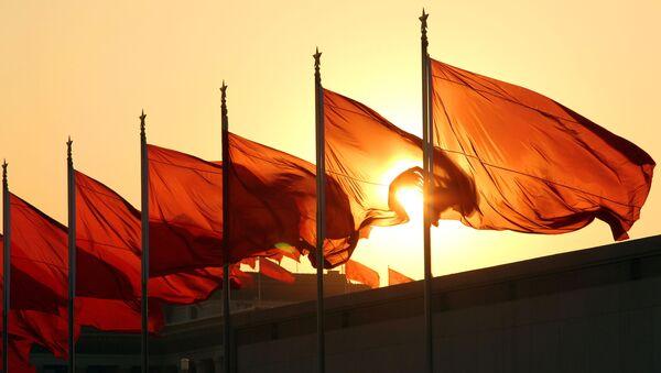 Čínské vlajky - Sputnik Česká republika