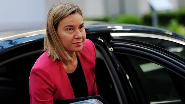 Federica Mogheriniová - Sputnik Česká republika