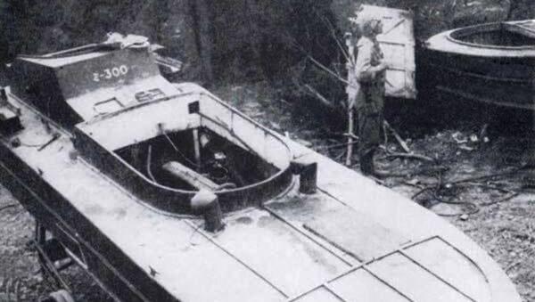 Člun kamikadze z doby 2. světové války - Sputnik Česká republika