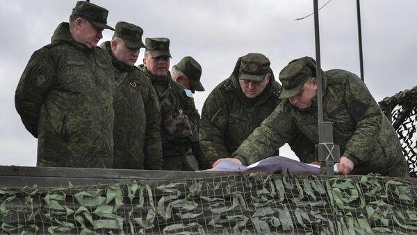 Velitel ruského výsadkového vojska, generálplukovník Andrej Serďukov - Sputnik Česká republika