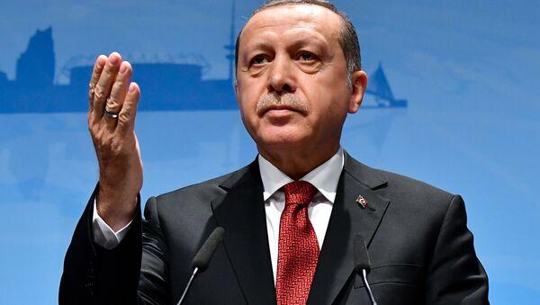 Turecký prezident Recep Tayyip Erdogan. Ilustrační foto - Sputnik Česká republika