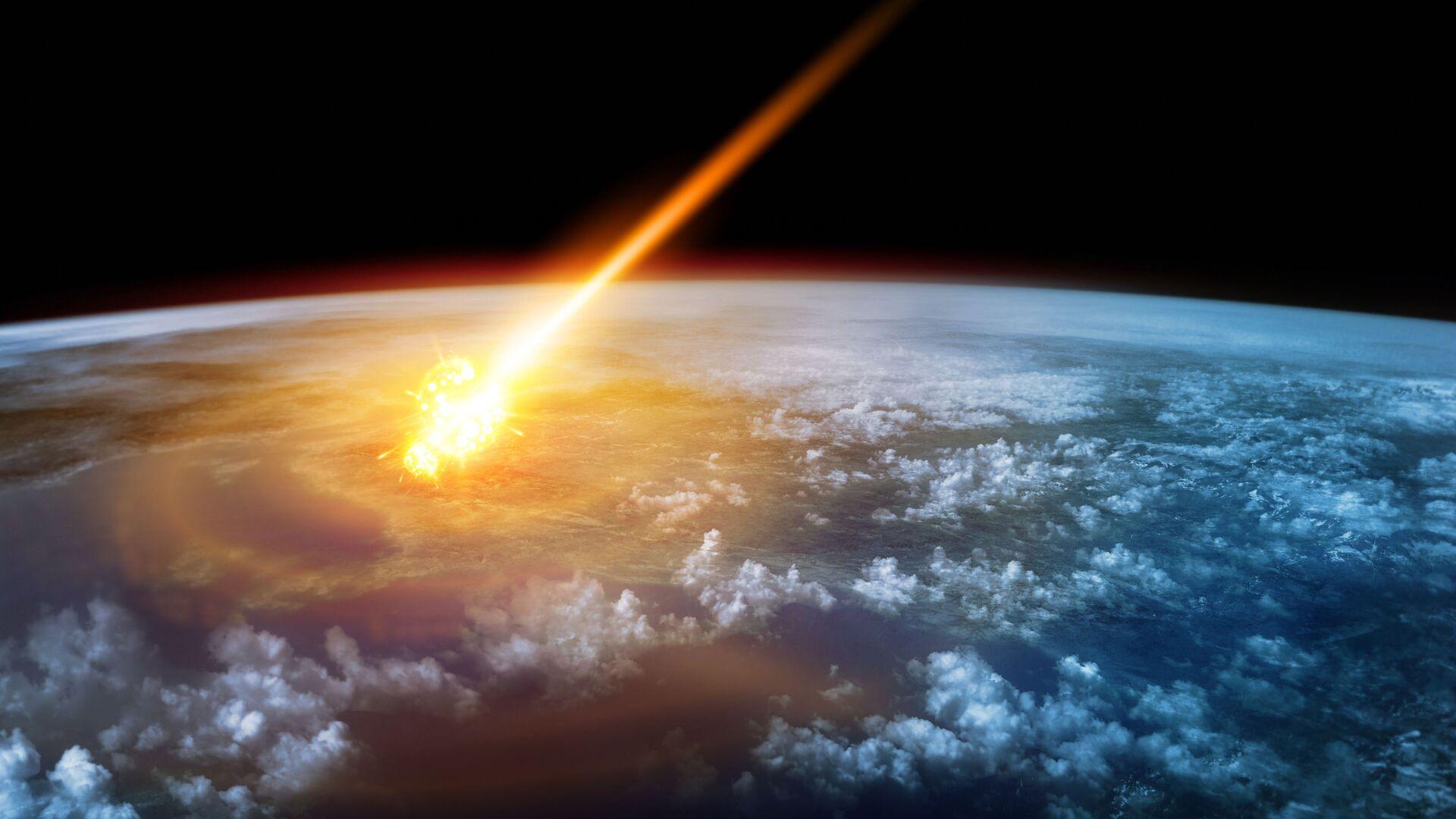 Asteroid. Illustrační foto - Sputnik Česká republika, 1920, 27.04.2021