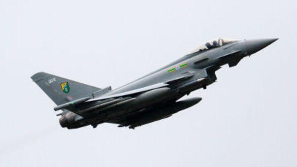Letadlo britského královského letectva Typhoon - Sputnik Česká republika
