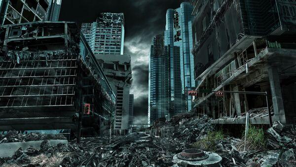 Zničené město - Sputnik Česká republika