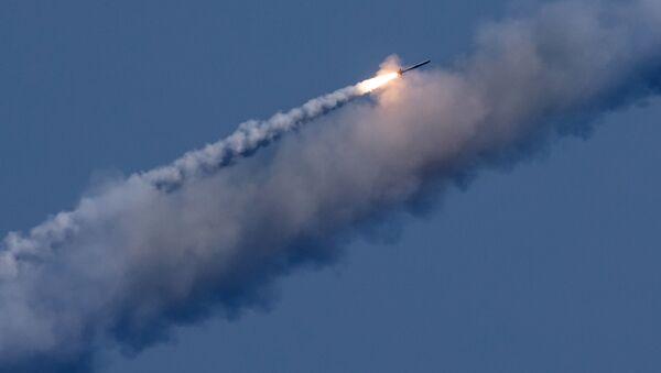 Odpálení Kalibrů na syrské teroristy - Sputnik Česká republika