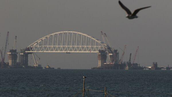 Budování Krymského mostu - Sputnik Česká republika