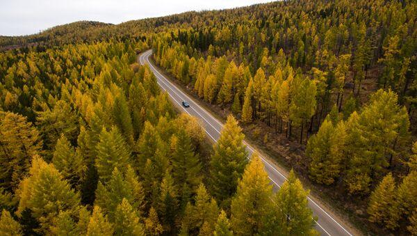 Silnice v Tyvě. Sibiř - Sputnik Česká republika