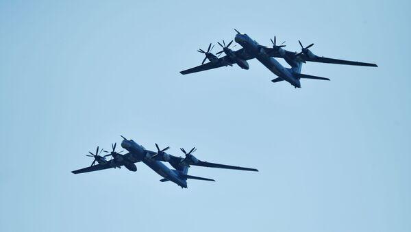 Ruské bombardéry Tu-95MS - Sputnik Česká republika