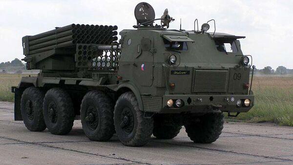Raketomet RM-70 - Sputnik Česká republika