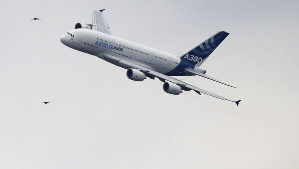 Airbus А380 - Sputnik Česká republika