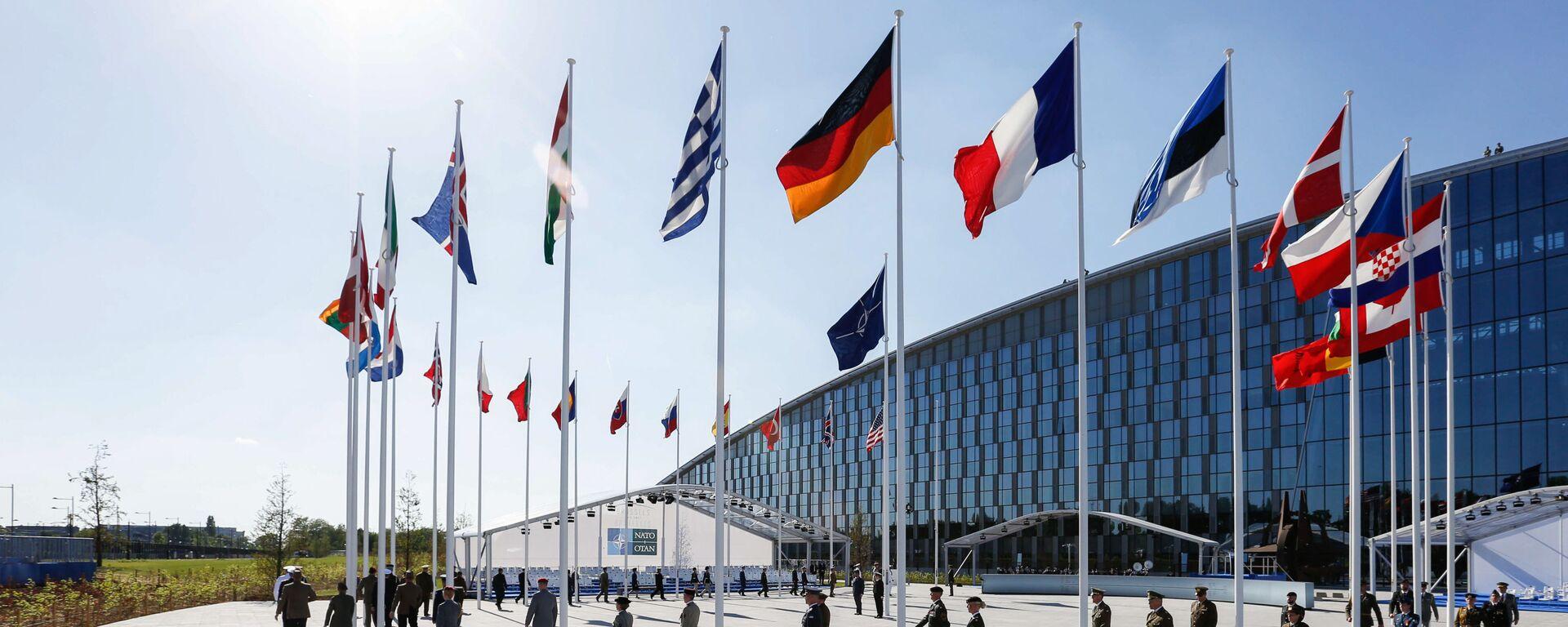 Brusel při summitu NATO - Sputnik Česká republika, 1920, 07.10.2021