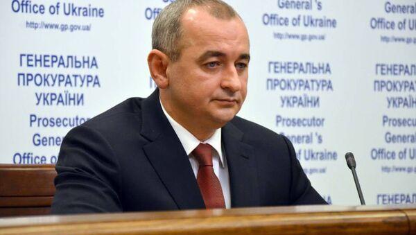 Hlavní vojenský prokurátor Ukrajiny generálporučík justice Anatolij Matios - Sputnik Česká republika